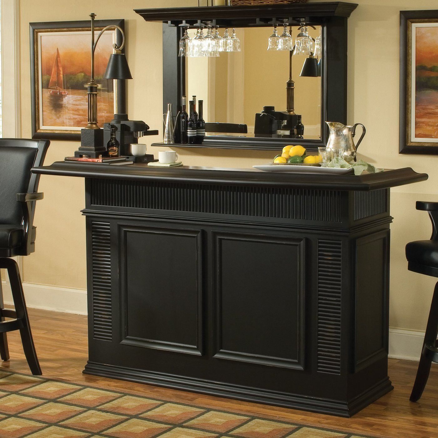 Greystone 9000030 Sussex Home Bar, Antique Black | Ideas for stuff ...