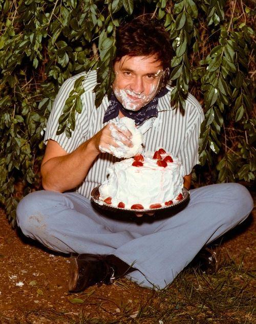 Johnny Cash high on sugar