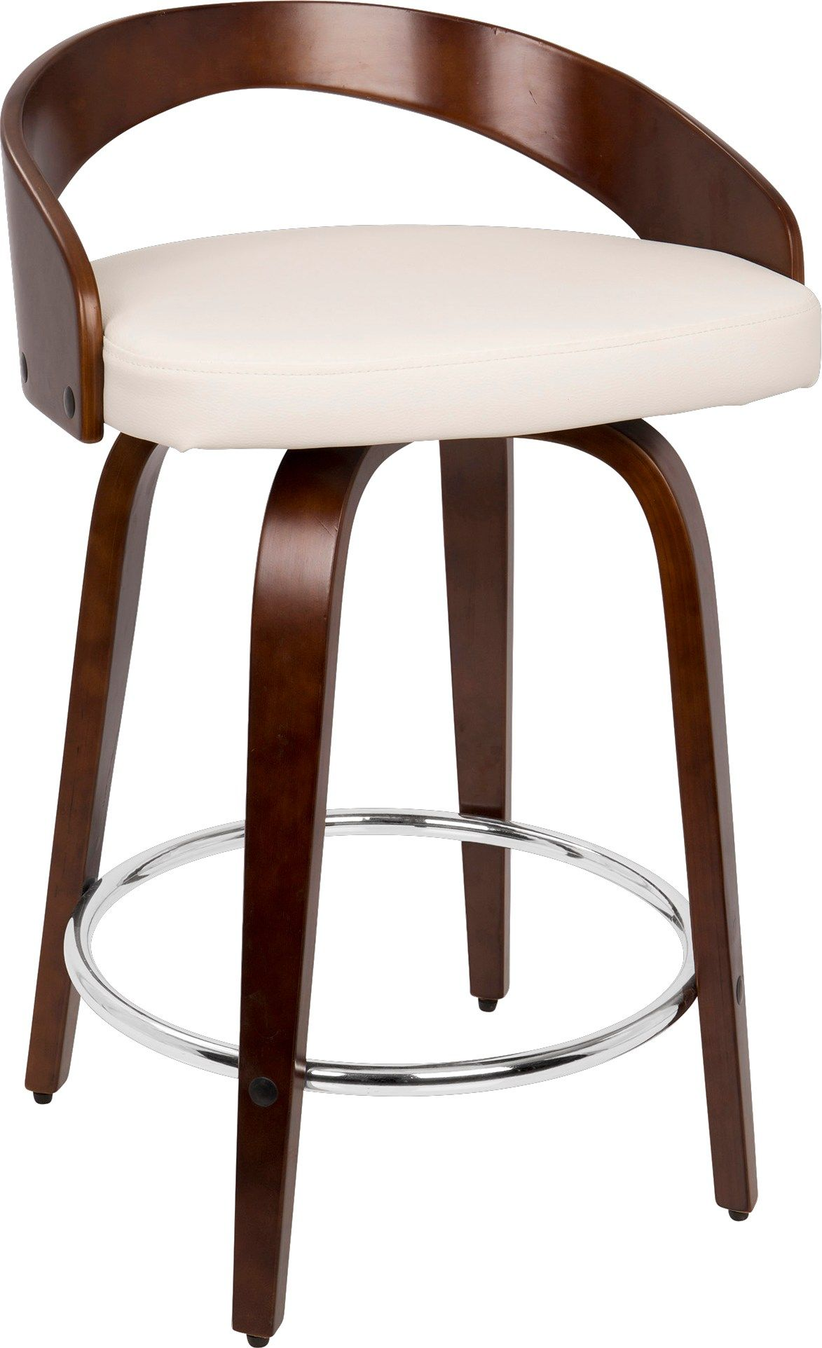 Grotto Cherry Counter Height Stool In 2019 Modern