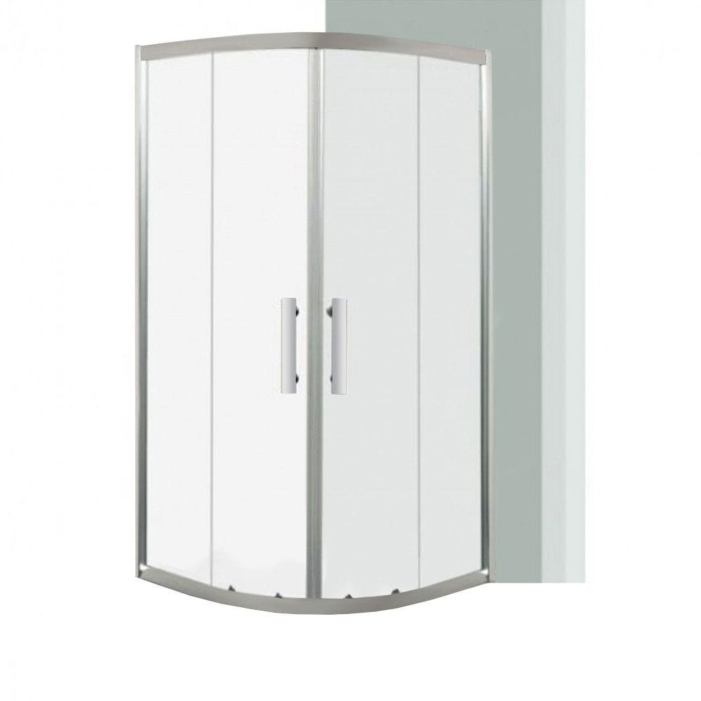 Spirit Matt 90x90x180 cm curved shower cabin, shower tray …