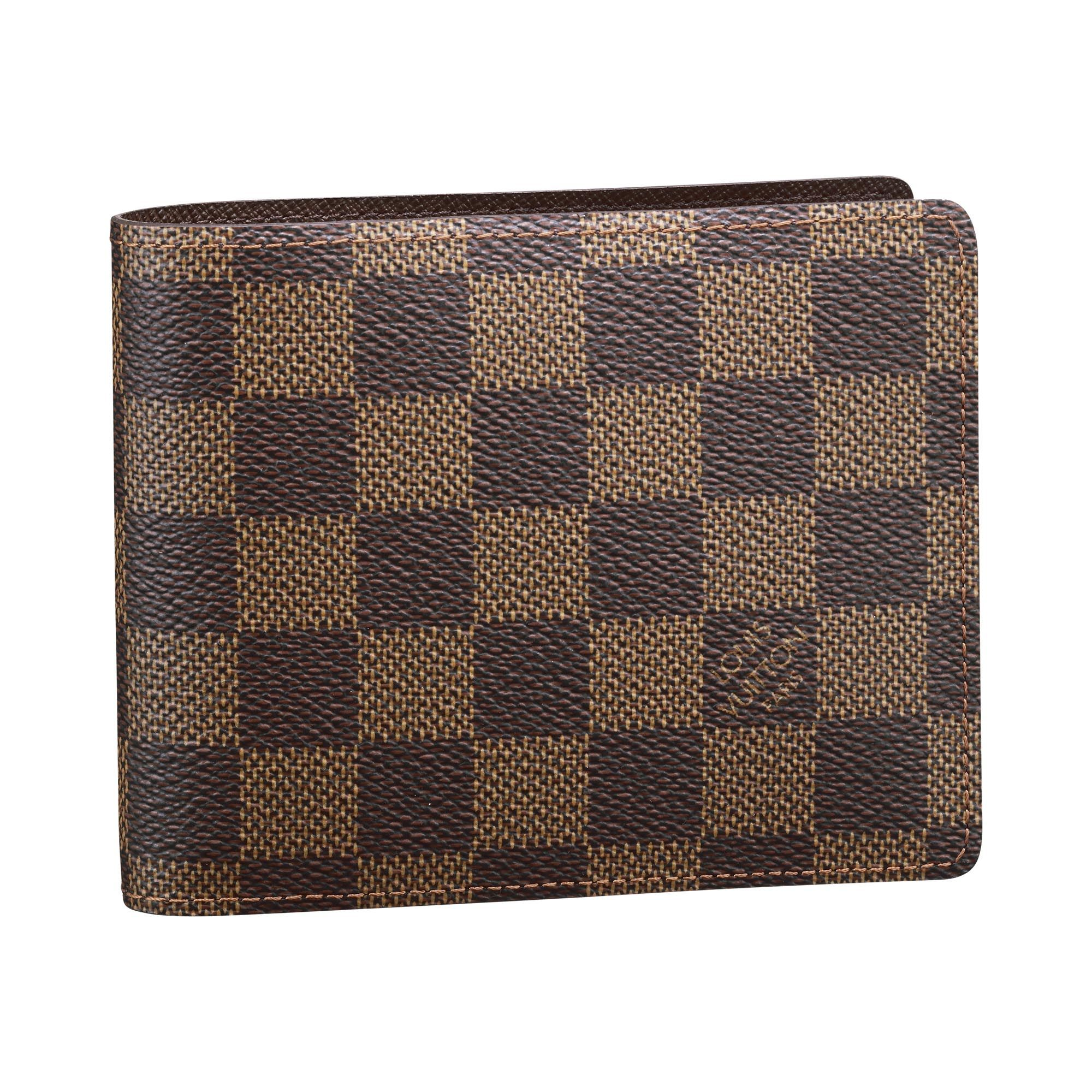 9dc77ca921e1 Louis Vuitton Men s Wallet (Damier Eben