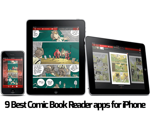 9 Best Comic Book Reading Apps for iPhone Fun comics