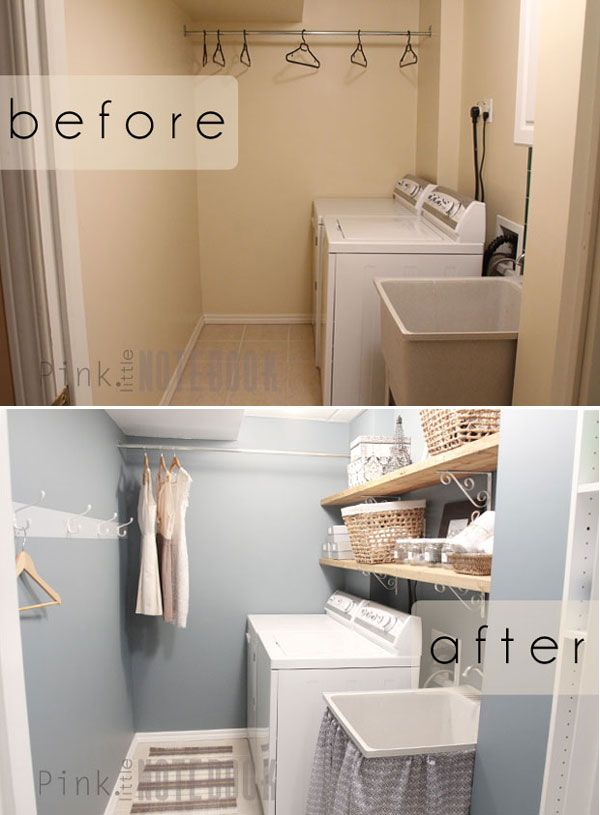 Before And After 9 Laundry Renovations Laundry Room Design Laundry Room Makeover Laundry Room Storage