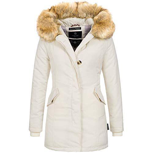 EightyFive Damen Jacke Parka Mantel Winterjacke | real