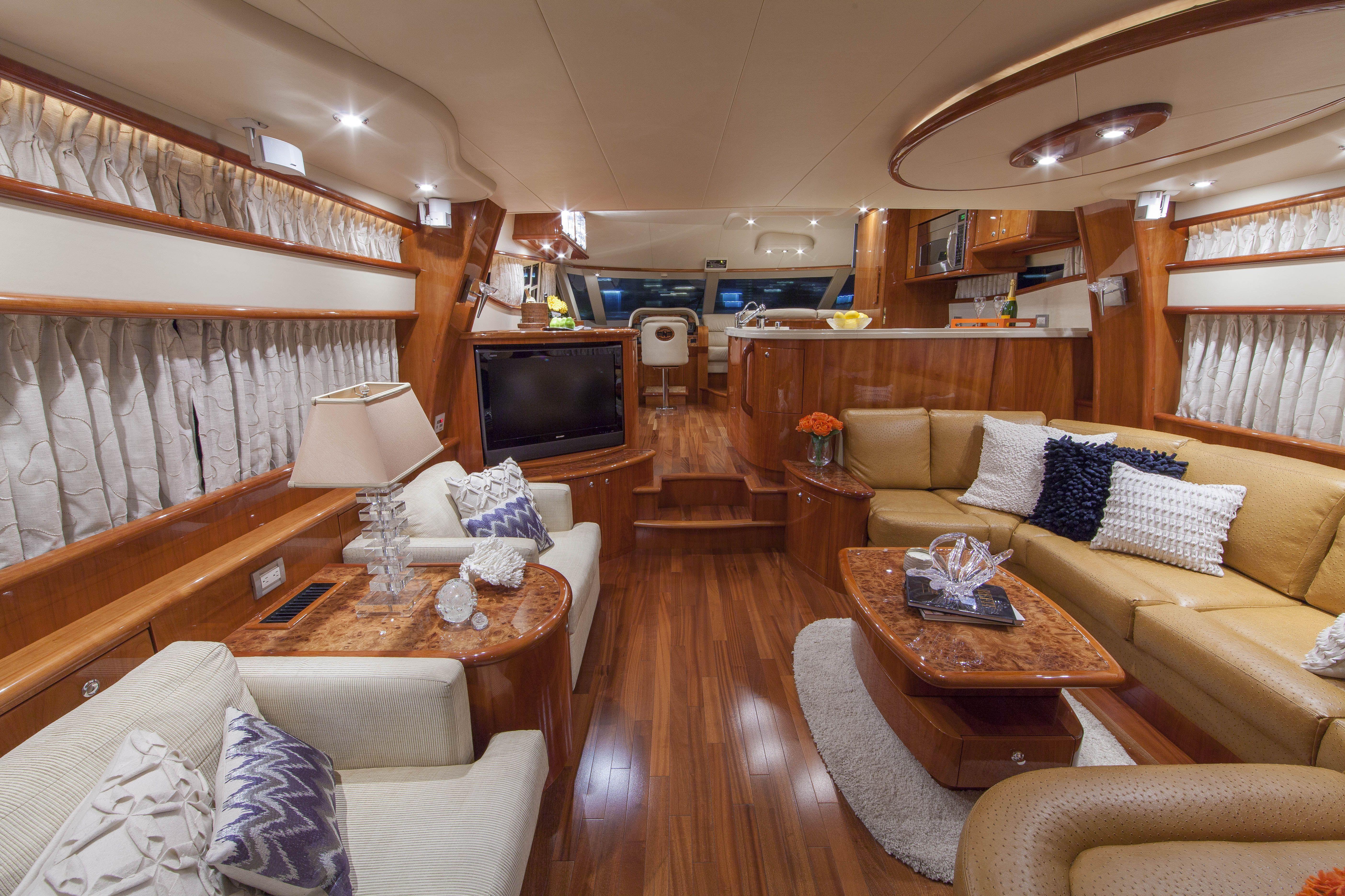 Yacht Interior By Mmi