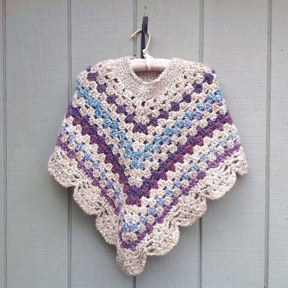 Your place to buy and sell all things handmade #crochetponchokids