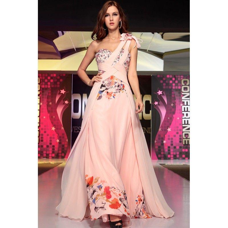 Unique Cocktail Dresses Unique Beautiful Pink Floral Print Evening