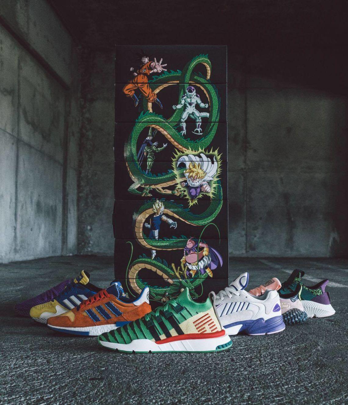 4cb027f050b Essas imagens da coleção Adidas x Dragon Ball Z vão fazer você querer todos