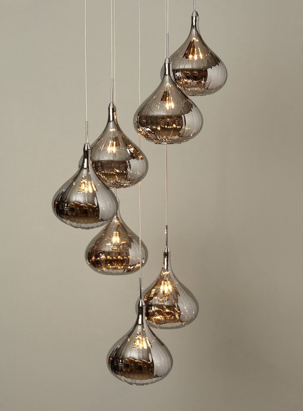 Teardrop Light Pendants Hanging Lamp Design Cluster Pendant Lighting Crystal Pendant Lighting