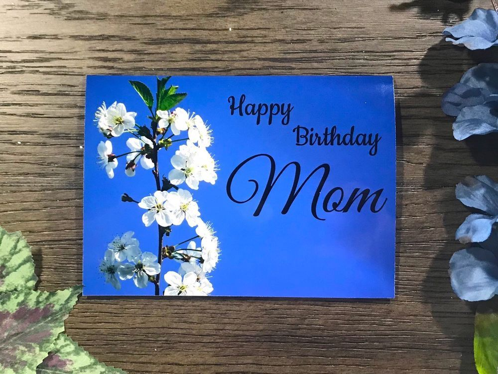 Details about handmade birthday greeting card for mother
