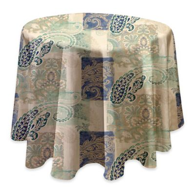 Madison 70 Round Stain Resistant Vinyl Tablecloth In Taupe Vinyl Tablecloth Tablecloth Sizes Laminated Fabric