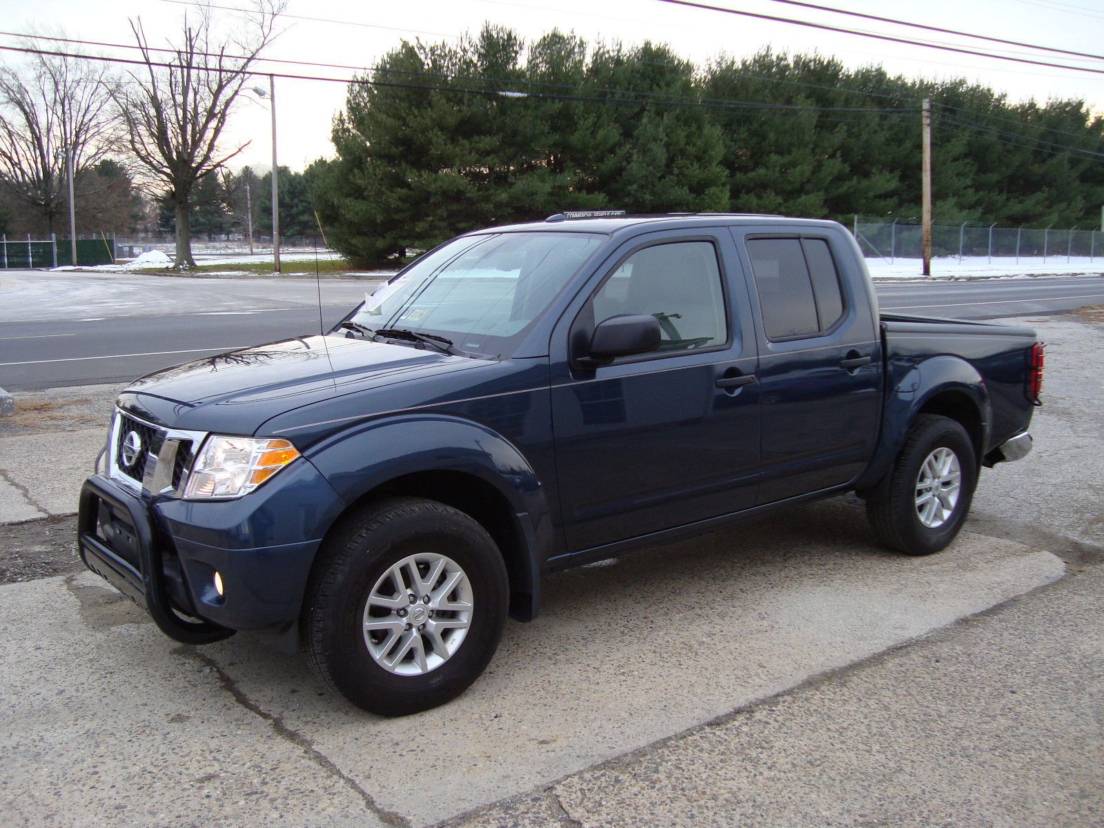 2016 Nissan Frontier Crew Cab SV 4x4 Salvage Rebuildable Repairable