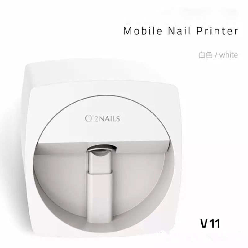 O2NAILS Automatic nail painting machine V11 Multifunction Mobile ...
