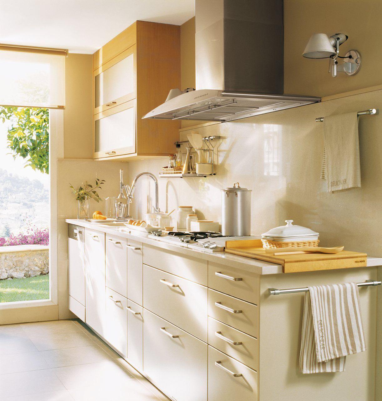 20 Cocinas Pequenas Y Muy Bonitas Home Kitchen Style - Cocinas-pequeas-y-practicas