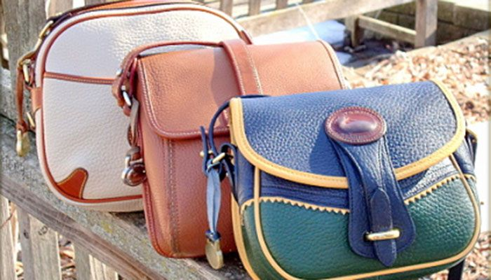 Outstanding Teton Shoulder Bag Awl Vintage Dooney Bourke All Weather Leather Production Of Collection
