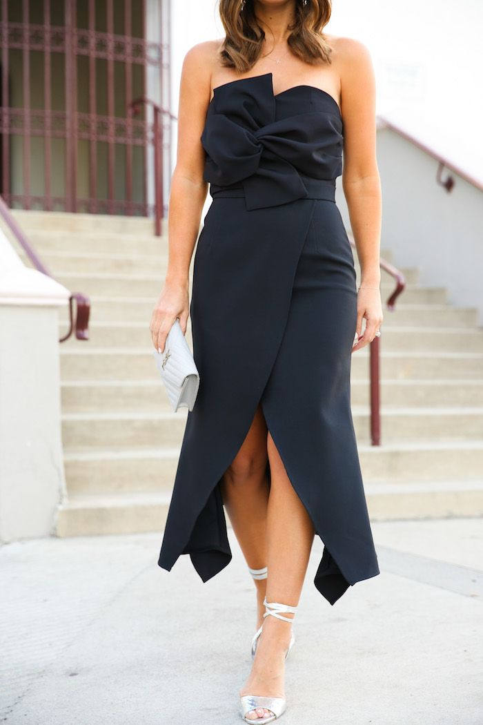 What to Wear to a Winter Wedding | Black tie wedding guest ...