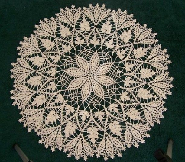 21 Free Crochet Doily Patterns | Ganchillo estilo libre, Manteles ...