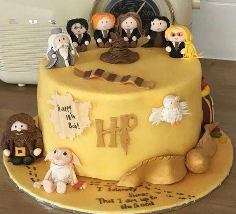 Harry Potter Geburtstagstorte Eine Von Zahlreichen Variationen