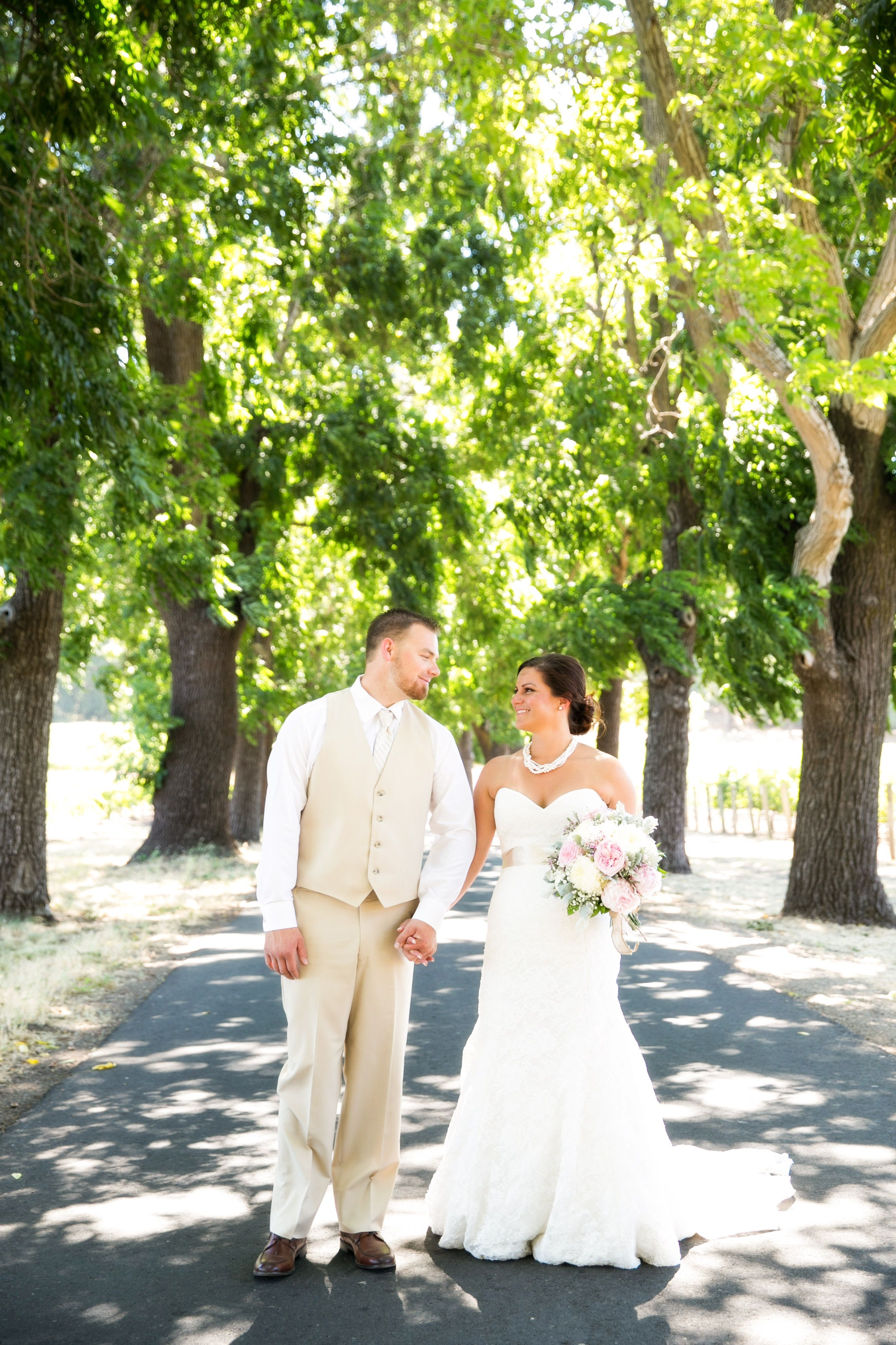 A rustic homemade wedding at Robinson Family Vineyard in Napa, CA. Photography by Adeline & Grace Intimates. More: http://www.theknot.com/weddings/album/171922