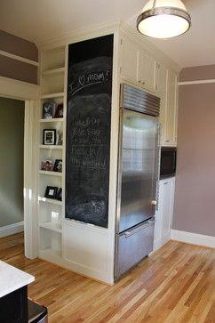 Idea For Side Panel Fridge Cabinet