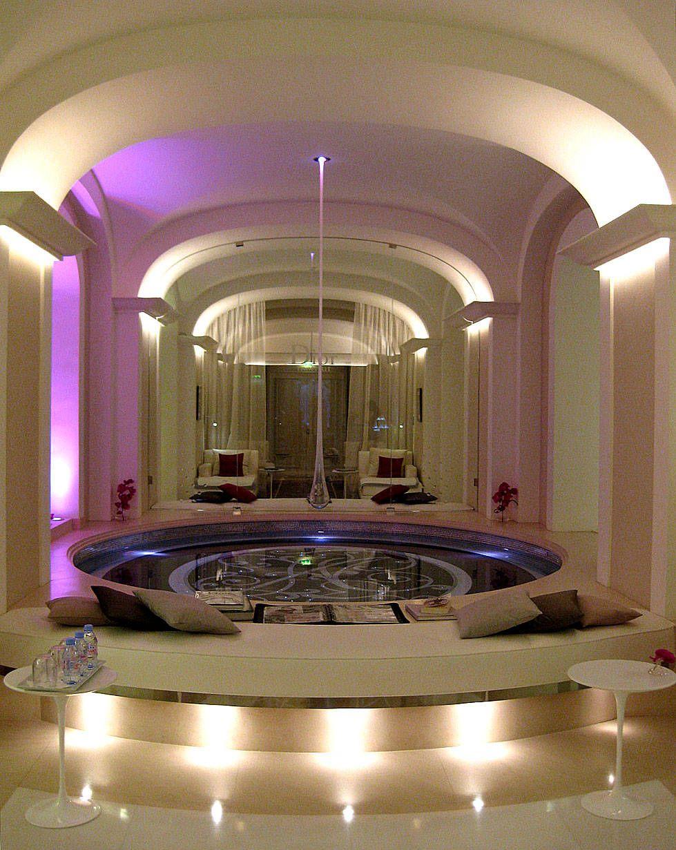 dior spa hotel plaza athenee colette le mason decoraci n de interiores 2. Black Bedroom Furniture Sets. Home Design Ideas