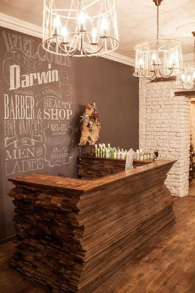 Rustic Home Bar Design