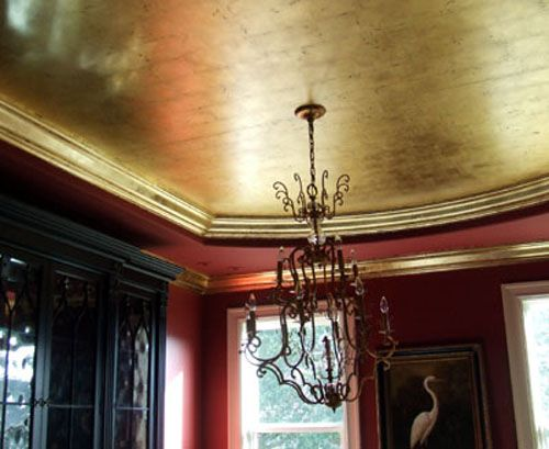 24k Genuine Gold Leaf 180 Grams Gold Ceiling Colored Ceiling