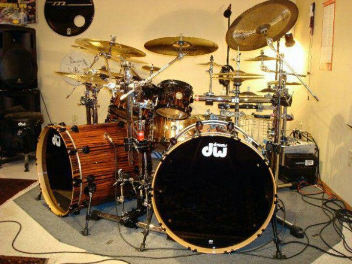 gotta love some good ol 39 dw 39 s drum stuff drums double bass drum kits. Black Bedroom Furniture Sets. Home Design Ideas