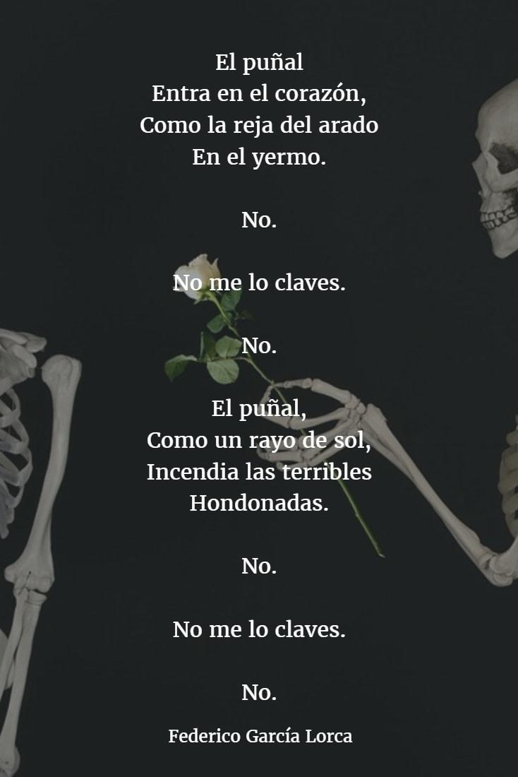Los Mejores Poemas De Federico García Lorca Versos Frases De Garcia Lorca Garcia Lorca Poemas Versos