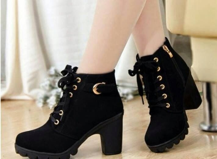 Latest Designs Of Winter Shoes For Western Girls 2015 - Boots For .
