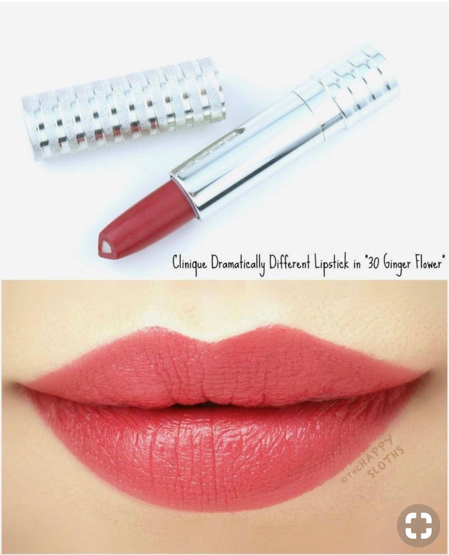 Clinique Ginger Flower Lip Colors Lipstick Beauty Makeup