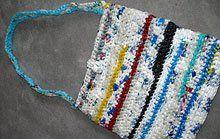 Recycling Tasche Aus Plastiktüten Häkeln Pinterest Recycling