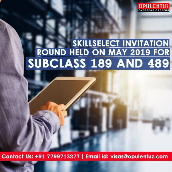 The total invitations announced in the SkillSelect invitation round