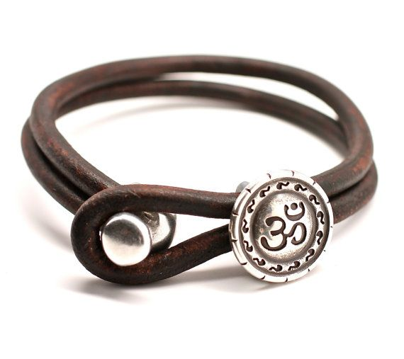 unisex brown itasca leathergoods accessories in illinois bracelet dark