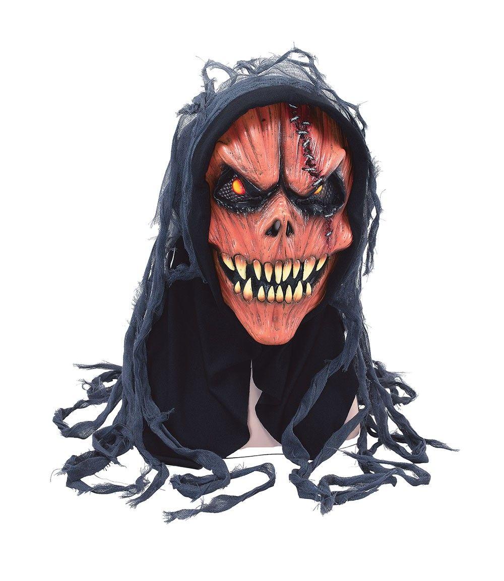 Halloween Masks Uk.Pumpkin Skull Mask At Funnfrolic Co Uk 9 09 Halloween