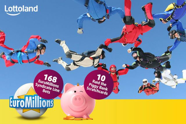 10 Lottoland Scratchcards 168 Euromillions Syndicate Line Bets Syndicate 10 Things Piggy Bank