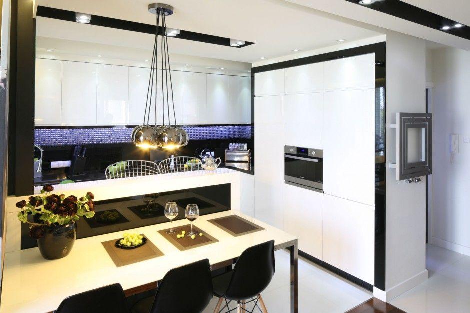 Znalezione Obrazy Dla Zapytania Mieszkanie Na Wysoki Polysk Best Kitchen Designs Tiny House Inspiration Home Decor