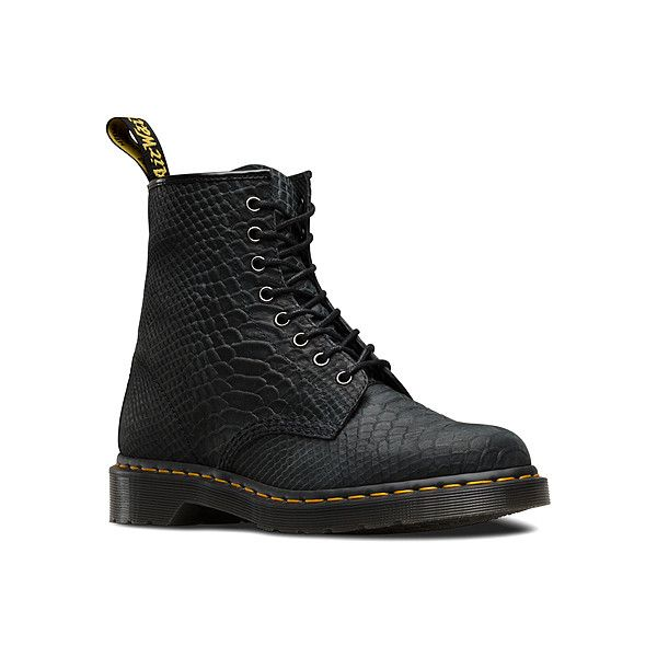 Dr. Martens 1460 8 Boots ($140) ❤ liked on Polyvore featuring shoes,