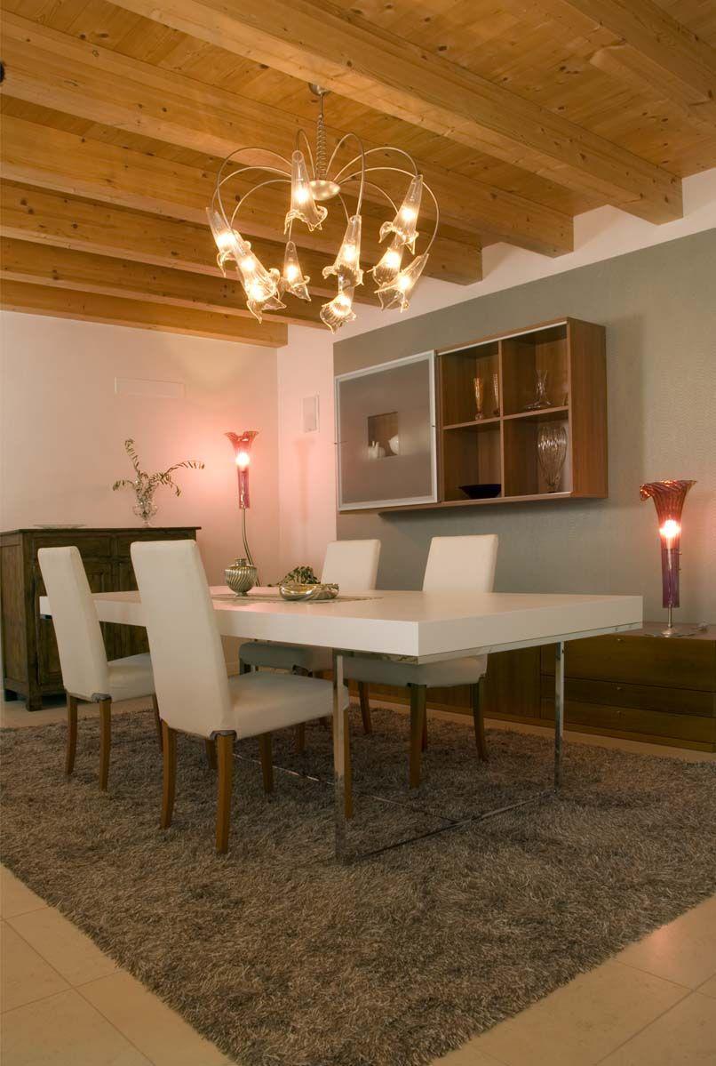 Abitazione privata #illuminazione #soggiorno #lampadario # ...