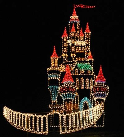 Less than 5 min from my childhood home- Oglebay Park Christmas Festival of  Lights - West Virginia - Cinderella's Castle - Less Than 5 Min From My Childhood Home- Oglebay Park Christmas