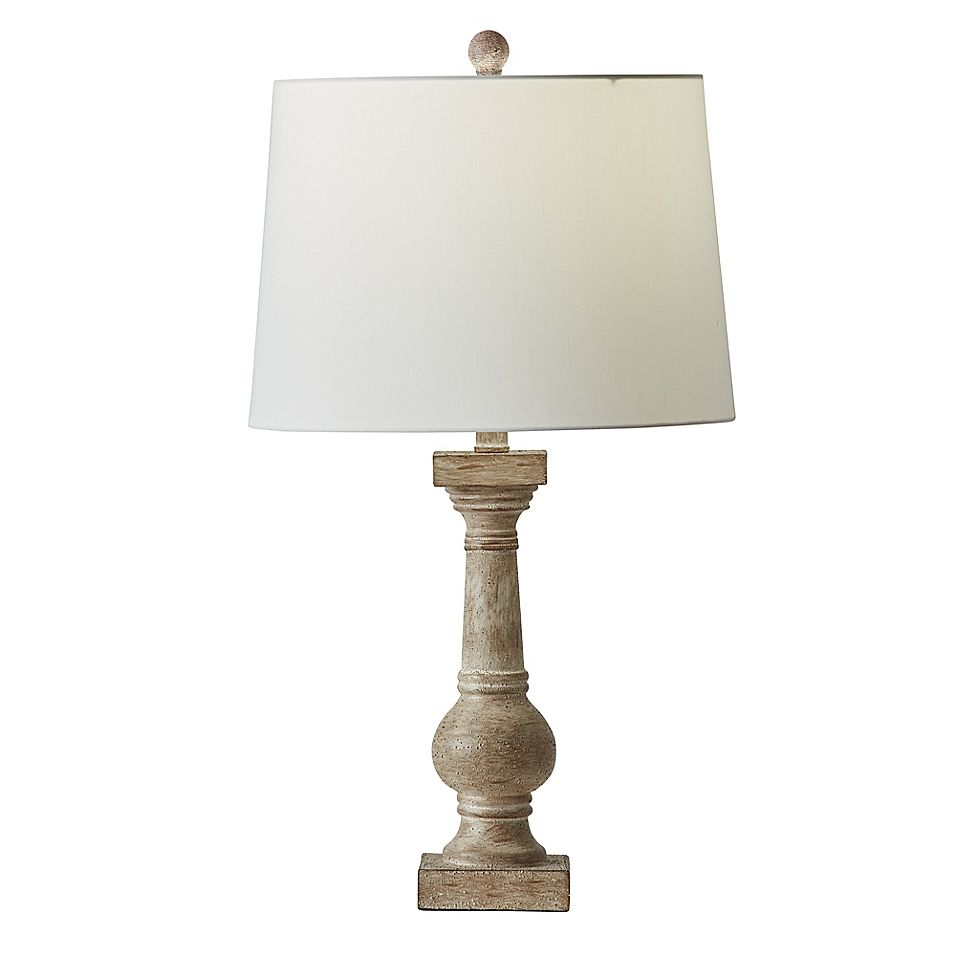 Bee Willow Home Villa Table Lamp In Cream With Cfl Bulb Table Lamp Wooden Table Lamps White Lamp Shade
