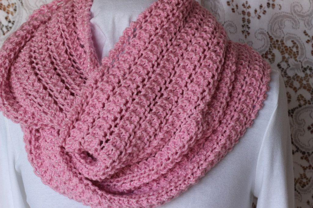 Easy Knitting Projects Scarf: Simple lace scarf pattern ⋆ knitting ...