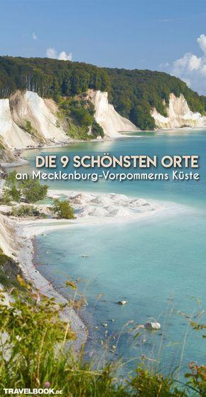 Los 9 lugares más bellos de la costa de Mecklemburgo-Pomerania Occidental
