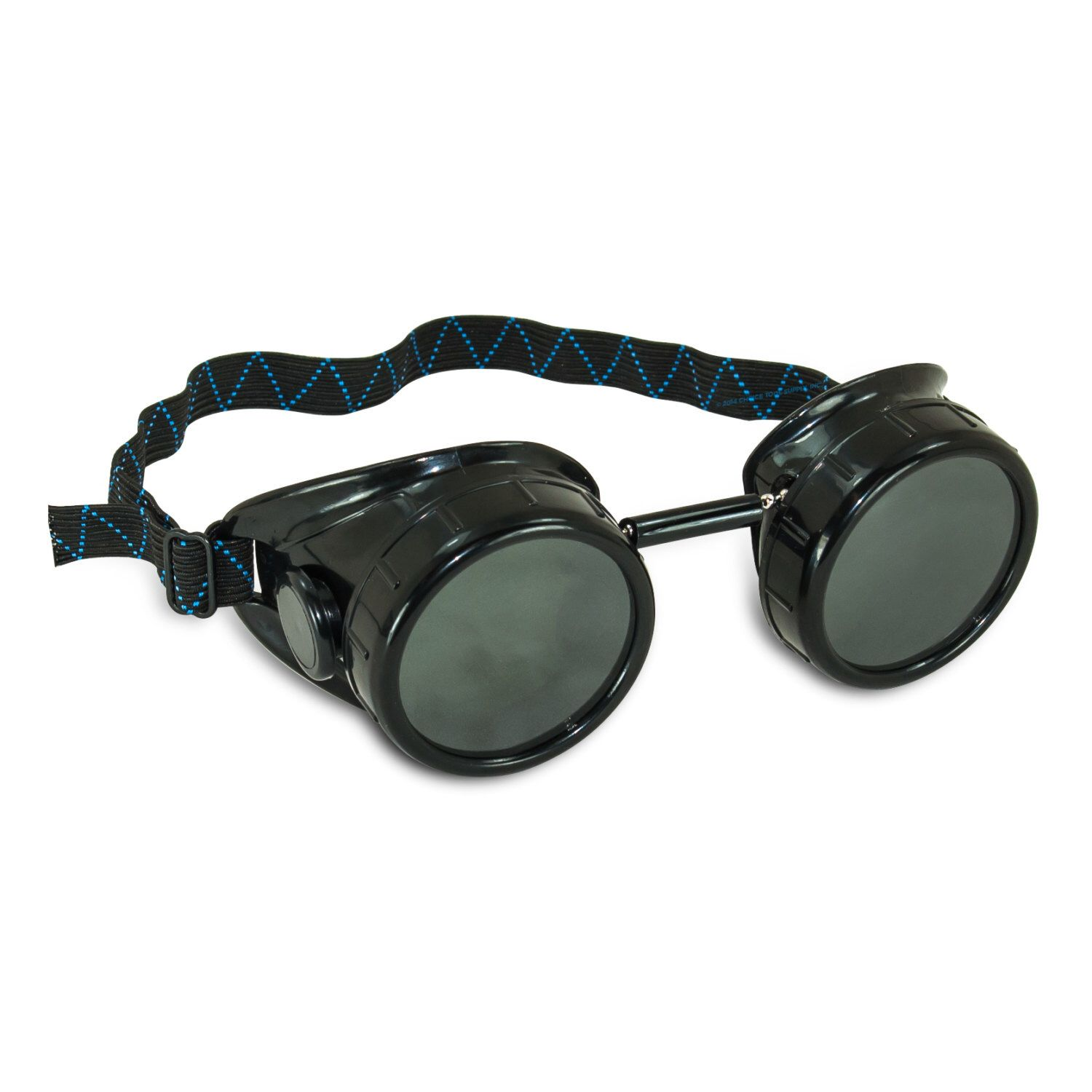 Customizable Steampunk Black Welding Cup Goggles 50mm