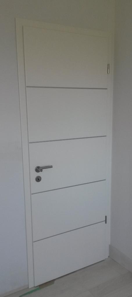 Modern Door With Aluminum Highlights Interior Door Projects