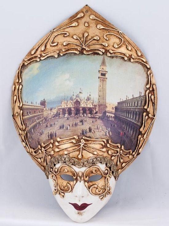 Venetian Masquerade Traditional Mask Salome Repubblica Mini 2 ...