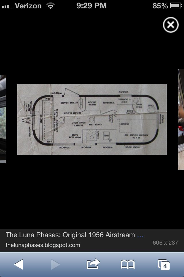 Airstream Floor Plan Airstream Go Camping How To Plan