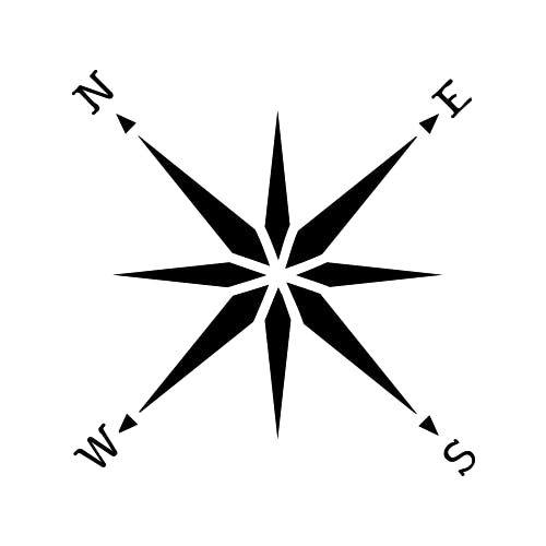 Loxodrome Tattoo - Semi-Permanent Tattoos by inkbox™