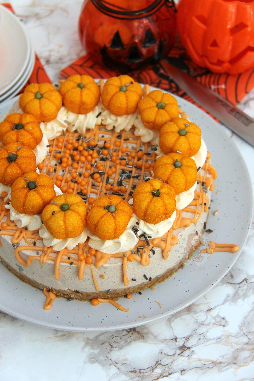 NoBake Pumpkin Spice Cheesecake! Jane's Patisserie