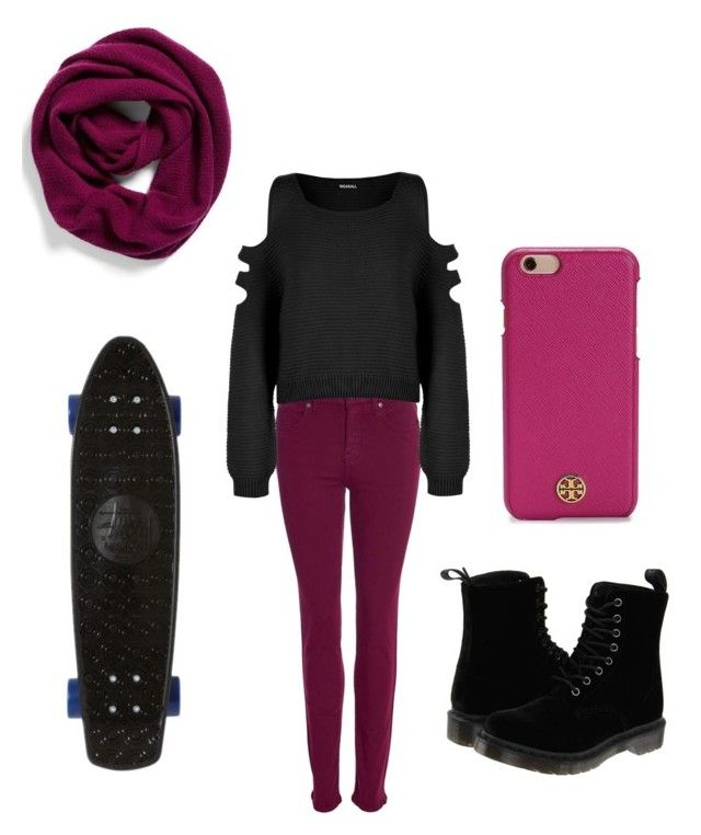 """""""Hipster look"""" by faaliyah49 ❤ liked on Polyvore featuring Barbour, WearAll, Halogen, Dr. Martens, Tory Burch and Stussy"""